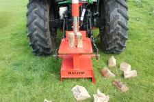 Malone log splitter 1